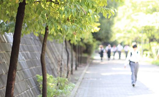 藤枝学院校舎